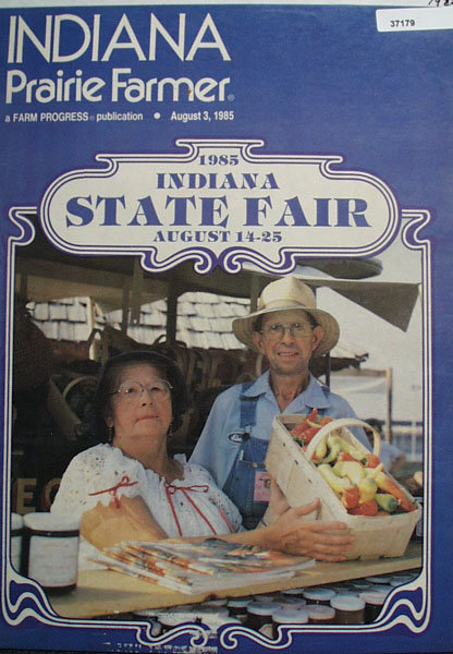 Indiana Prairie Farmer 1985 Cover Page