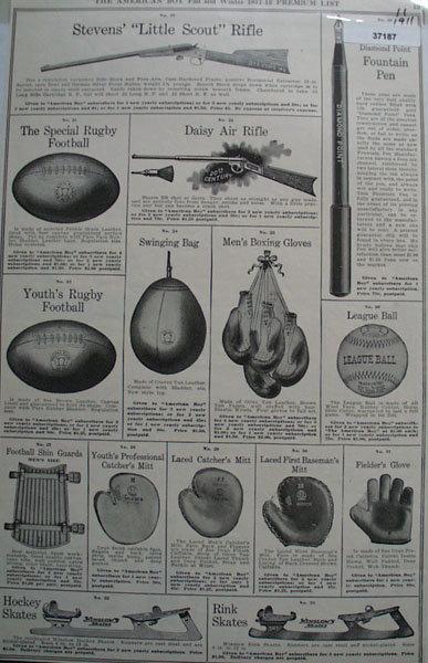 The American Boy 1911 Ad