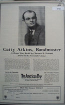 The American Boy Catty Atkins 1923 Ad