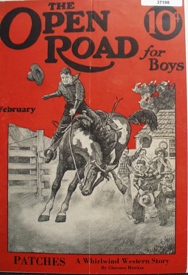 The Open Road For Boys 1928 Front Cover