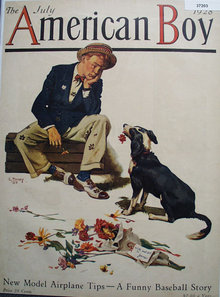 The American Boy 1928 Front Page