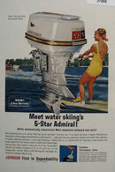 Johnson Sea Horse Motor 1963 Ad