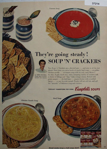 Campbells Soups Anne Marshall 1954 Ad
