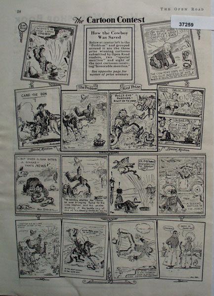 Open Road Cartoon Contest 1931