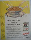 Kelloggs Rice Krispies Cereal 1931 Ad
