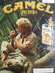 Camel Filters Cigarettes 1983 Ad