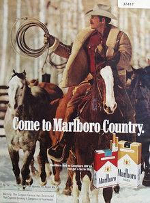 Marlboro Cigarettes 1983 Ad