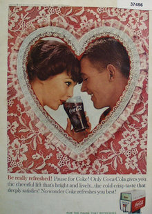Coca Cola 1960 Really Refreshed Ad