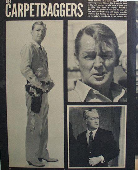 Alan Ladd 1964 Article
