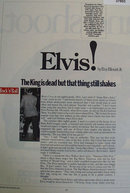 Elvis By Roy Blount Jr. 1983 Article