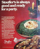 Stouffers Frozen Prepared Food 1970 Ad