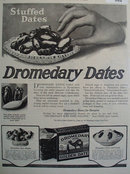 Dromedary Golden Dates 1919 Ad