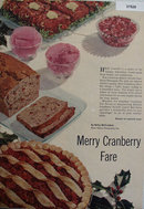 Merry Cranberry Fare 1954 Article