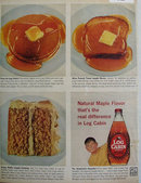 Log Cabin Syrup 1959 Ad