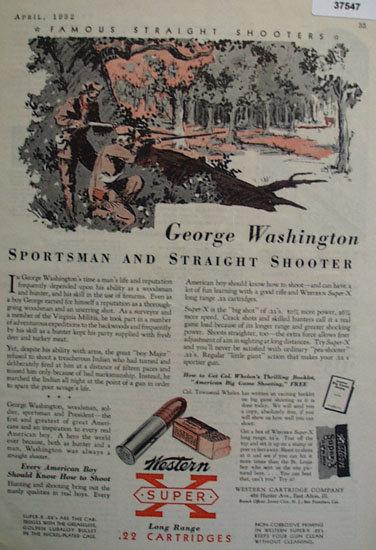 Western Cartridge Co. 1932 Ad