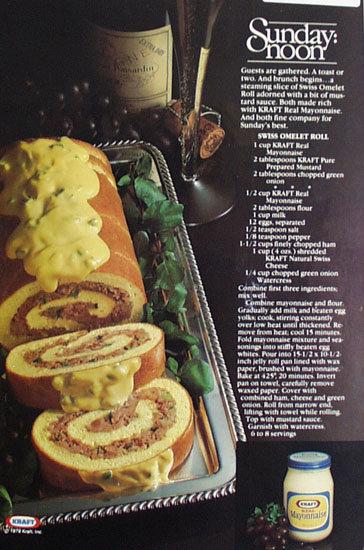Kraft Real Mayonnaise 1979 ad