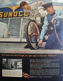 Sunoco Service Station 1960 Ad