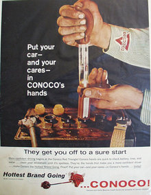 Continental Oil Co. Conoco 1960 Ad