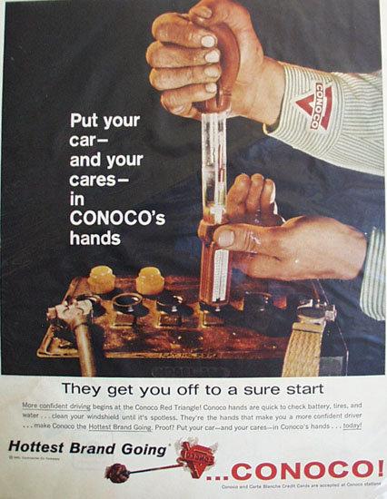 Continental Oil Co. Conoco 1960 Ad