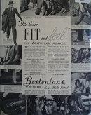 Bostonians Shoes 1938 Ad.