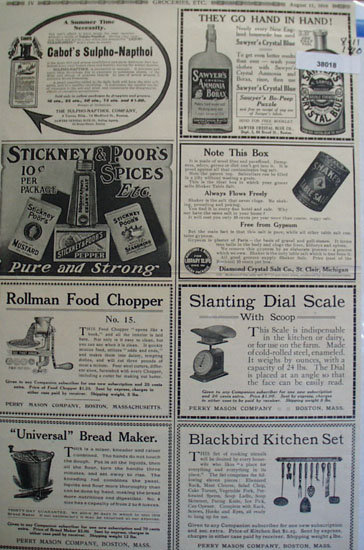 Shop By Mail 1910 Ad