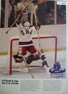 U.S. Hockey Team 1980 Article
