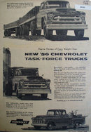 Chevrolet Task Force Trucks 1956 Ad