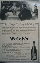 Welchs Grape Juice 1915 Ad