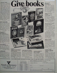 Books to Give 1970 Ad