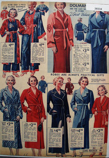 Sears Dolmans Robes 1936 Ad