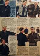 Sears Boys Jackets In Wool And Trimmed Fur 1935 Ad