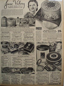 Sears Cosmetic Lines 1938 Ad