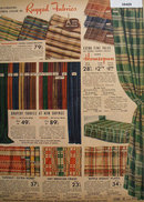 Sears Drapery And Couch Fabric 1938 Ad