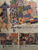 Sears Smart Style Par tee Broadcloth 1938 Ad
