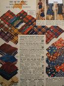Sears Childrens Fabric 1938 Ad