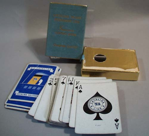 Catalina Island Steamship Line Souvenir playing cards