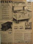 Sears Capitol Wood or Coal Stove 1938 Ad