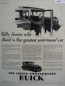 Buick Motor Co. 1929 Ad