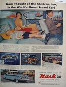 Nash Ambassador Car 1956 Ad
