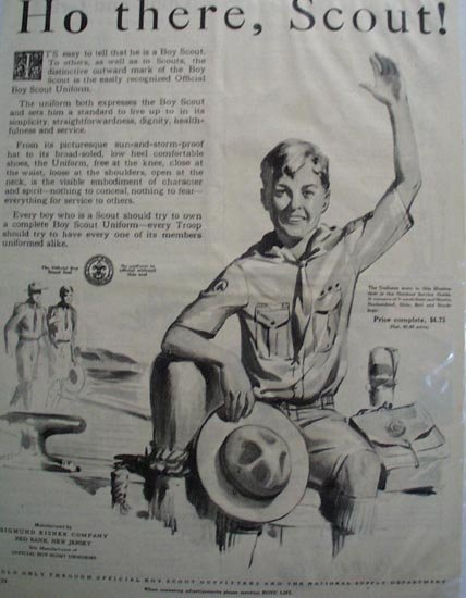 Boys Life Boy Scout Uniforms 1929 Ad