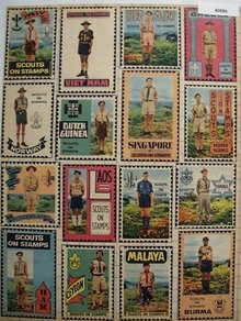 Boy Scout Stamps 1960 Ad