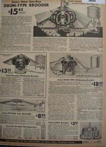 Sears Sun Ray Chicken Brooder 1938 Ad
