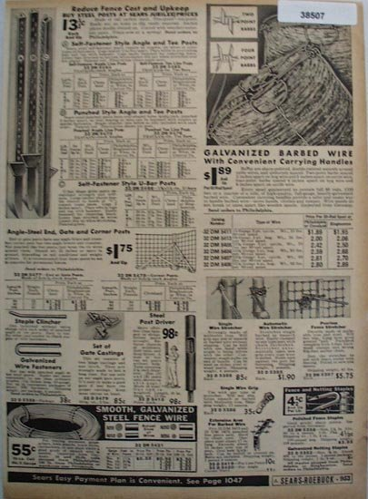 Sears Farm Related Items 1936 Ad