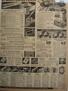 Sears Beekeepers Supplies 1938 Ad