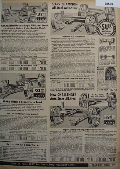 Sears Farm King Farm Truck 1936 Ad