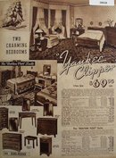 Sears Yankee Clipper Bed Room Furniture 1936 Ad