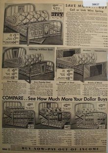 Sears Beds Mattresses Springs 1936 Ad