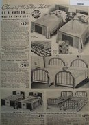 Sears Twin Beds 1938 Ad