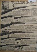 Sears Low Price Rifles 1938 Ad