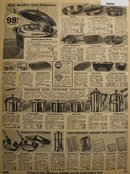 Sears Cast Ironware And Stainless steel Utensils 1935 Ad